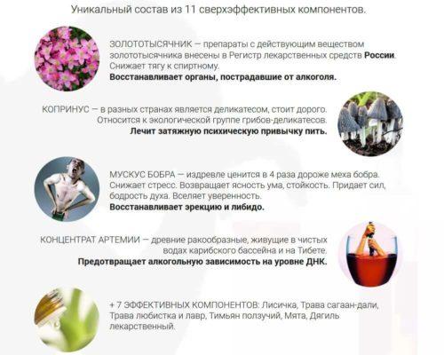Состав препарата Алкопрост